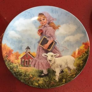 {5 for $25} Mary had a little lamb plate